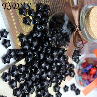 Free Shipping 120pcs One Bottle Black Color Vintage Sealing Wax Granule Stamp For Envelope Letter
