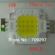 High Power 10W LED Chip 30mil 900LM~1080LM 10pcs/lot,White/Warm white for LED Bulb Lamp Light 120086+Free Shipping(China)