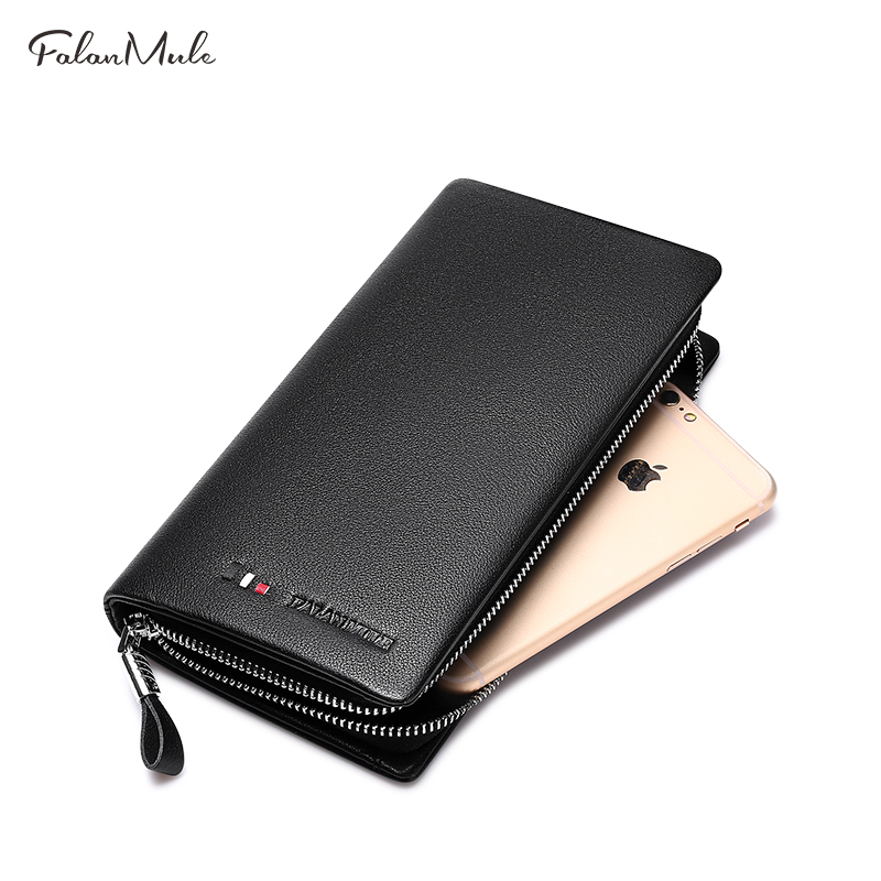 Hot Sale Wallet Fashion Male Clutch Genuine Leather Men Wallet Luxury Purse Leather Wallet Men Clutch Bag Phone Card Holder hot sale 2015 harrms famous brand men s leather wallet with credit card holder in dollar price and free shipping