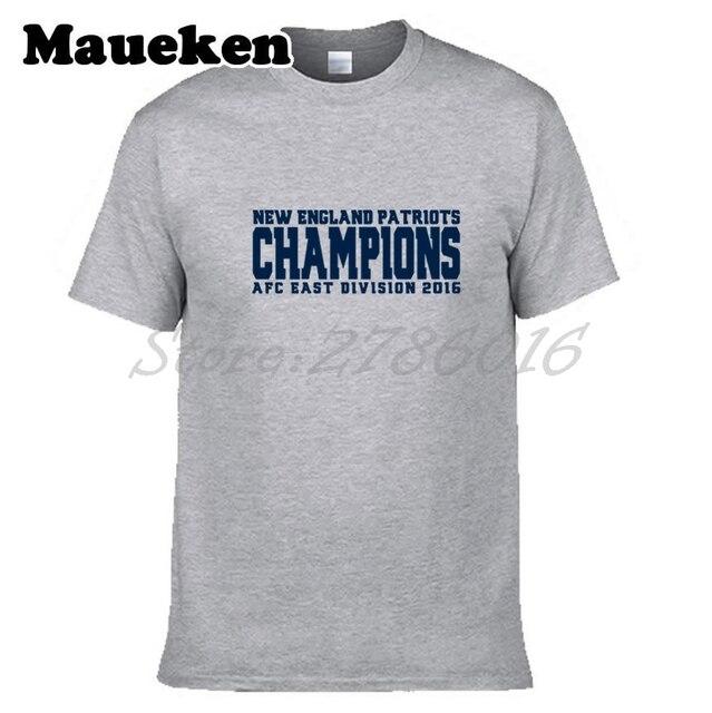 Men New England AFC East Division 2017 Champions T-shirt Clothes Short  Sleeve Patriots T SHIRT Men s Fashion W0123009 27d1aa479