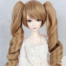 Bjd doll wig 1 4 4 1 6 high temperature silk sd female doll wig wig