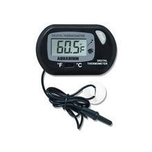 Цифровой термометр с ЖК-дисплеем, аквариумный термограф, прибор для измерения температуры морской воды для контроля температуры аквариума-50~ 70C