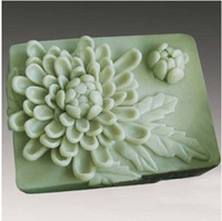DIY Silicone Molds For Cake Pudding Jelly Dessert Mould Flower Style Handmade Soap Chocolate Mold Silicone