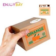 Enjoybay панда Кот вор копилка игрушка автоматический палантин монета экономия денег коробка подарки на день рождения для детей(отправка из России