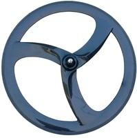Aero projeto 3 falou roda de carbono estrada rodas 700c clincher carbono tri falou roda trilha fixed gear 56mm estrada raios de bicicleta 3