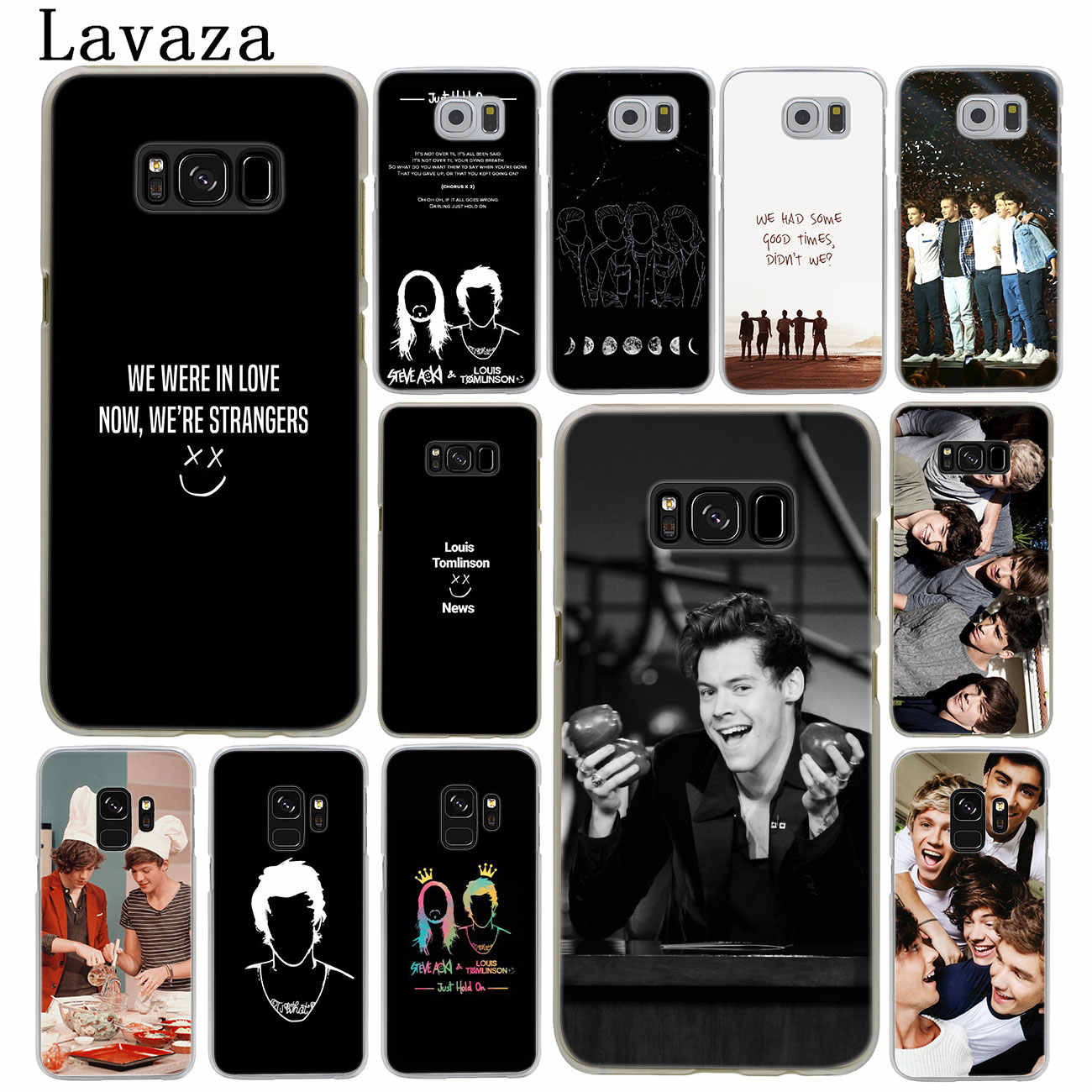 Lavaza One Direction Louis Tomlinson Hard Phone Case for Samsung Galaxy S10  S10E S8 Plus S6 S7 Edge S9 Plus Cover