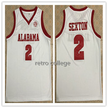 f224c7231 2 Collin Sexton Alabama Crimson Tide Jerseys Red White Basketball Jersey  Embroidery Stitched XXS-XXL