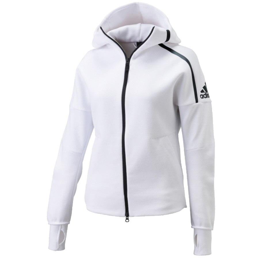 white adidas jacket