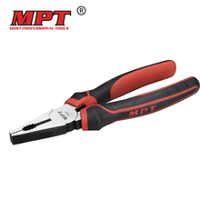 MPT 6 inch 7 inch wire cutting combination plier wire cutter stripping plier professional hand tools wire stripper pliers
