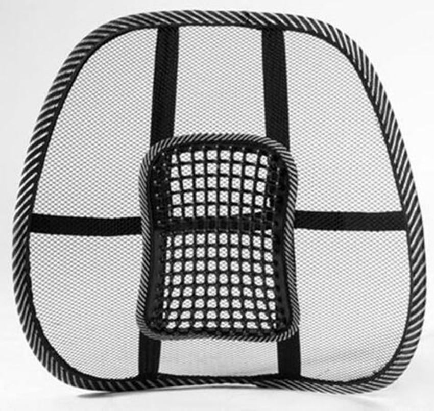 Beau New Car Seat Chair Massage Back Lumbar Support Mesh Ventilate Cushion Pad  Black,Mesh Back Lumbar Cushion Healthy In Seat Belts U0026 Padding From  Automobiles ...