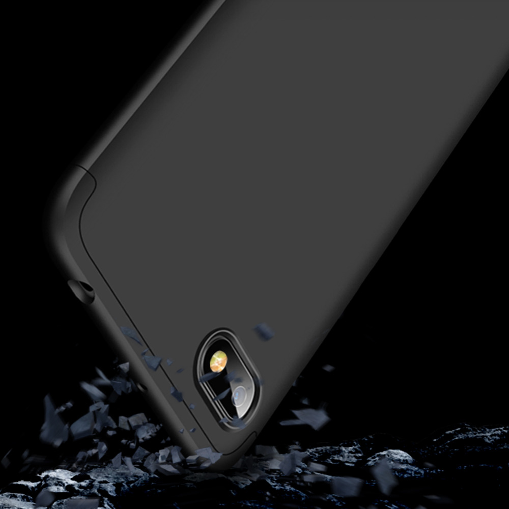 360 Degree Full Protection Case For Xiaomi Redmi 6A Cover shockproof case For Xiaomi Redmi 6A Full Cover case glass film in Fitted Cases from Cellphones Telecommunications