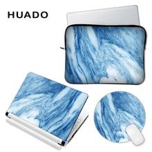 Marble vinyl decal laptop skin cover for lenovo/hp/asus Custom DIY logo laptop accessory case sticker for macbook/xiaomi 13.3 15
