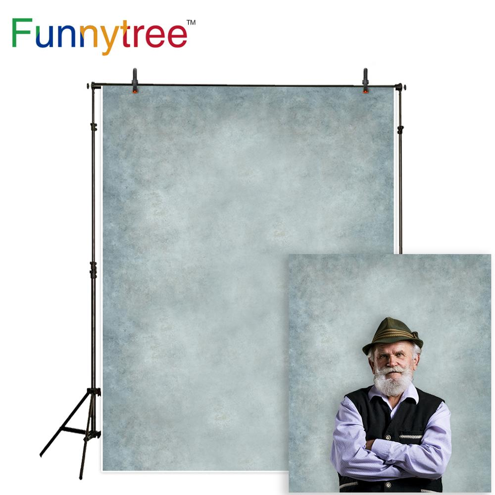 Funnytree gray pure color classic portrait old master photography backdrops royal baby background for photo studio photophone