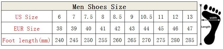 Men Shoes Size New