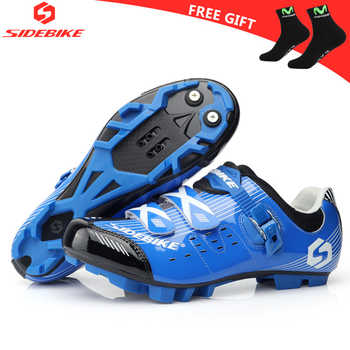 sidebike cycling shoes mtb man women bicycle shoes racing mountain bike sneakers professional self-locking breathable bici corsa - DISCOUNT ITEM  25% OFF All Category