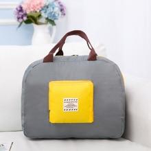 QINYIN Packing bags Weekend new nylon foldable travel bag unisex Large Capacity Bag Luggage Women WaterProof Handbags