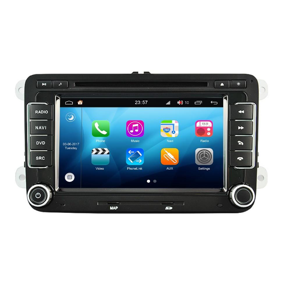 RNS315 RCD310 RCD500 Android 8.0 pour VW pour Volkswagen pour Skoda pour Seat 7 ''OEM Original autoradio stéréo DVD GPS Navigation