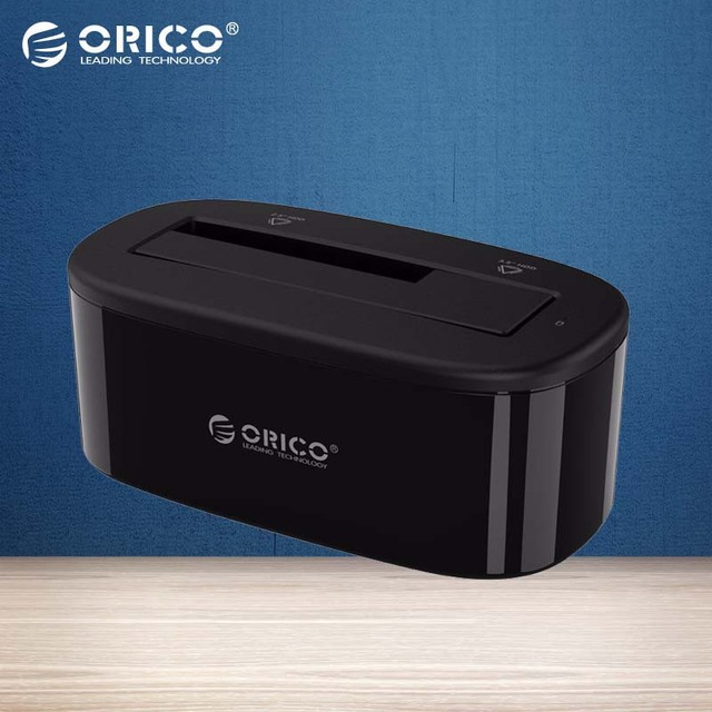 ORICO USB 3.0 sata Внешний Жесткий Диск Док-Станция для 2.5/3.5 дюймов HDD/SSD [поддержка UASP и 8 ТБ] (6218US3)