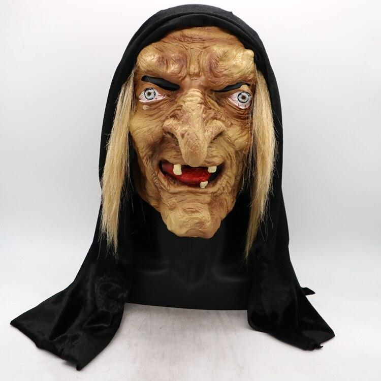 Livraison taille Jouet Halloween Masque À Long Nez Horreur Latex Sorcière Masque Festival Costume Party Délicat Cosplay Prop Livraison Shippin