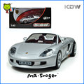 Mr. Froger 1:43 por Carrera GT 2001 de aleación modelo de coche coche Deportivo de metal Refinado Decoración Juguetes Clásicos Convertibles Cabriole regalo