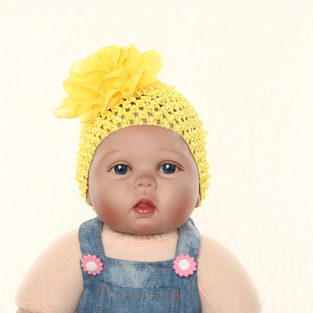 10ea84ad439 ... Lovely Baby Hat Big Floral Baby Girls Hats Flower Baby Girls Caps  Children s Spring Autumn Hats ...