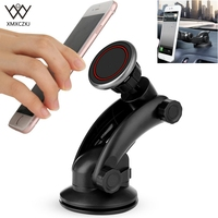XMXCZKJ Universal 360 Rotation Phone Holder Car Magnetic Holder Dashboard Suction Cup Mount Holder For Iphone
