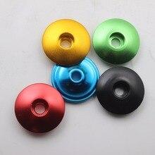 CHOOSE 1-1/8 Road Bike Headset Top Cap Al 6061 Mtb Stem Bicycle Parts 5 Colors
