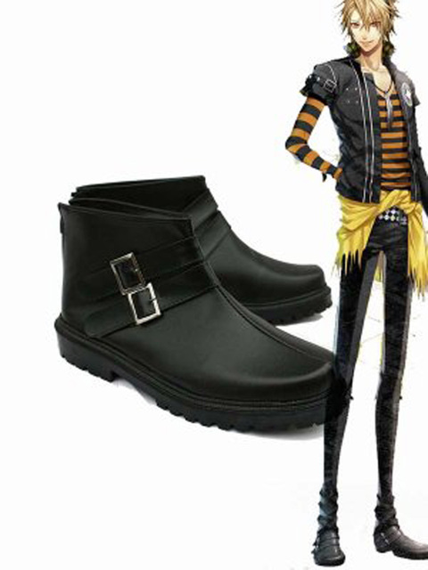 Amnesia TOMA Cosplay Shoes Boots Custom Made
