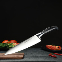 "New top grade sharp knife 440c quality 8"" inch Frozen meat cutter Chef knife kitchen knife."