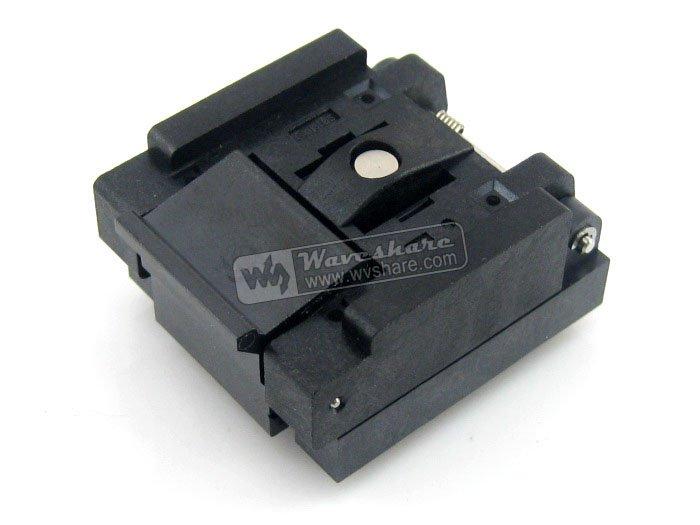 все цены на 2018 Limited Module Qfn48 Mlp48 Mlf48 Qfn-48(56)bt-0.5-01 Enplas Qfn 7x7 Mm 0.5pitch Test Burn-in Socket With Ground Pin онлайн