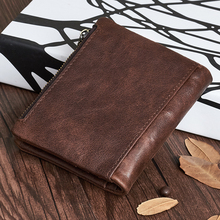 Genuine Leather Retro Style Wallet