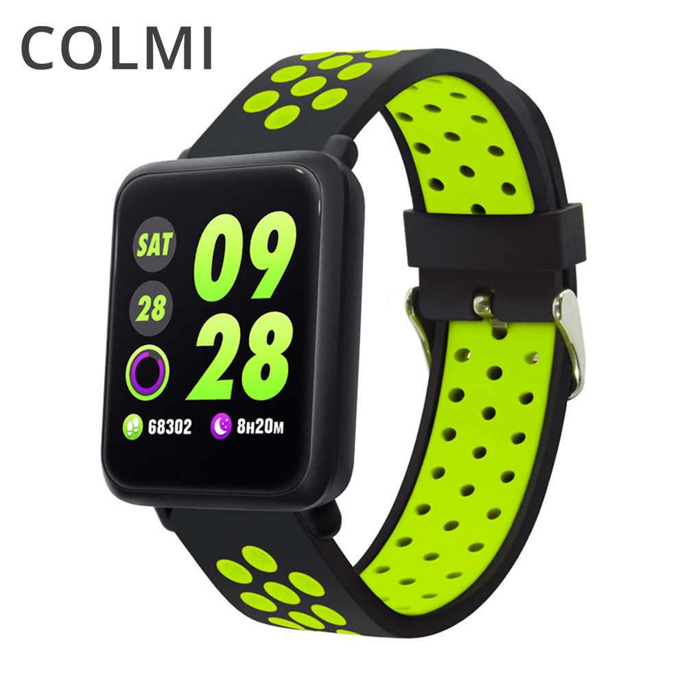 COLMI M28 חכם שעון IP68 Waterproof קצב לב לחץ דם Smartwatch עבור Xiaomi אנדרואיד IOS טלפון קישור להקת ספורט 3