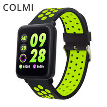 COLMI M28 Smart Watch IP68 Waterproof Heart Rate Blood Pressure Smartwatch for Xiaomi Android IOS Phone LINK Band SPORT 3(China)