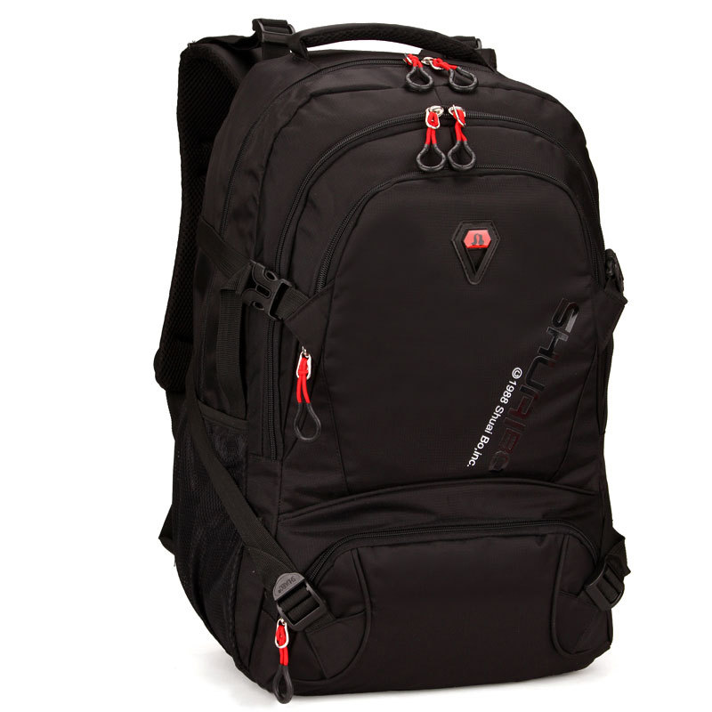 ФОТО 2016 HOT New Arrival 14.1 to 17 Inch Laptop Bag Backpack Men Large Capacity Nylon Compact Men's Backpacks Unisex Women Bagpack