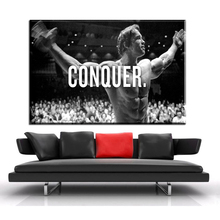 ФОТО ZZ602 Schwarzenegger Motivational Quotes Art canvas Poster Bodybuilding Fitness Inspirational Pictures Wall Decor unframed art