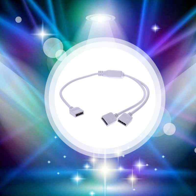 4 ขา LED RGB ตัวเชื่อมต่อสายสำหรับ LED Strip Light
