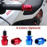 2x Universal Pro Taper Shape CNC Aluminum Motorcycle 7 8 22mm Hand Bar Ends Motorbike Handlebar