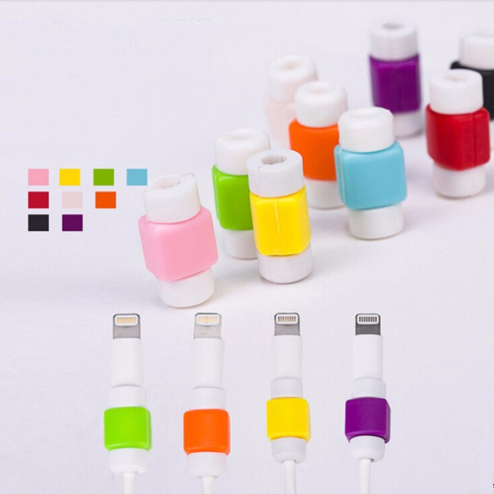Data Line Protection Case Coil Protective Cover Connectors For Charging Cable Phone Charging Case Headphone Winder Gifts 1Pc