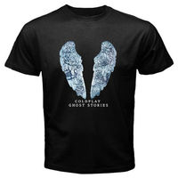 COLDPLAY Ghost Stories British Rock Band Logo Men S Black T Shirt Size S To 2xl