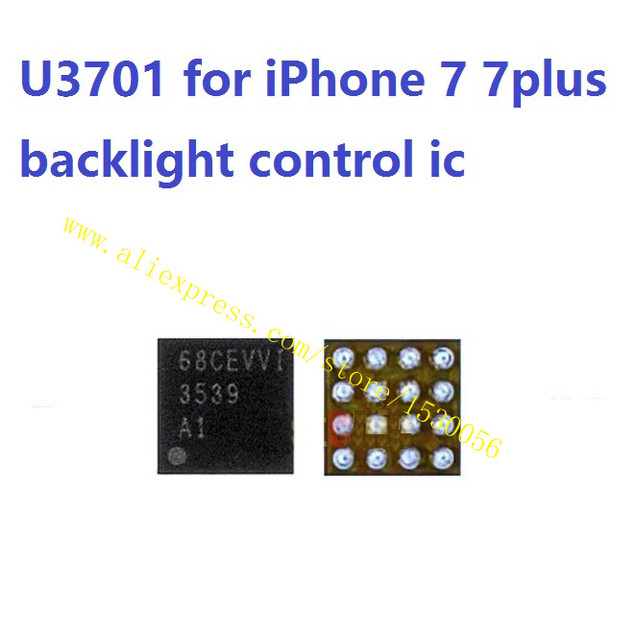 brand new 16581 f5aed US $11.5 |U3701 for iPhone 7 7plus backlight control ic chip 16pins back  light repair ,lot of 10 pcs-in Connectors from Lights & Lighting on ...