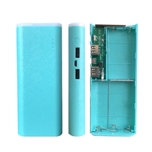 5*18650 Power Bank Case 5V Dual USB Battery Box Mobile Phone Charger DIY Shell Battery Powerbank box For iphone 6 Plus S6 Xiaomi цена и фото
