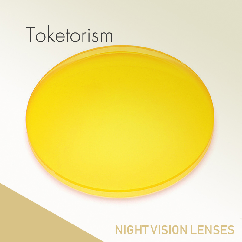 Toketorism prescription sunglasses yellow lenses night vision for men women colored lenses for eyes YS001 in Eyewear Accessories from Apparel Accessories