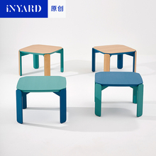 [InYard original] sofa side table / imported white oak wood, northern Europe, simple fashion, Scandinavia