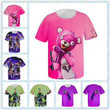 Cuddle Team Leader T-shirt Game Battle Royale Dark Bomber Cosplay Costume Straw Ops Summer Yee-Haw! T-shirt Tee For Kids/Women