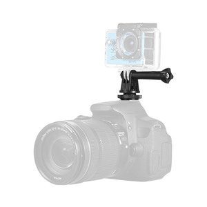 Image 2 - Andoer Heißer Schuh Mount Adapter Stativ Schraube zu Action Kamera Flash für GoPro Hero Andoer LED Ring Licht für DSLR kamera
