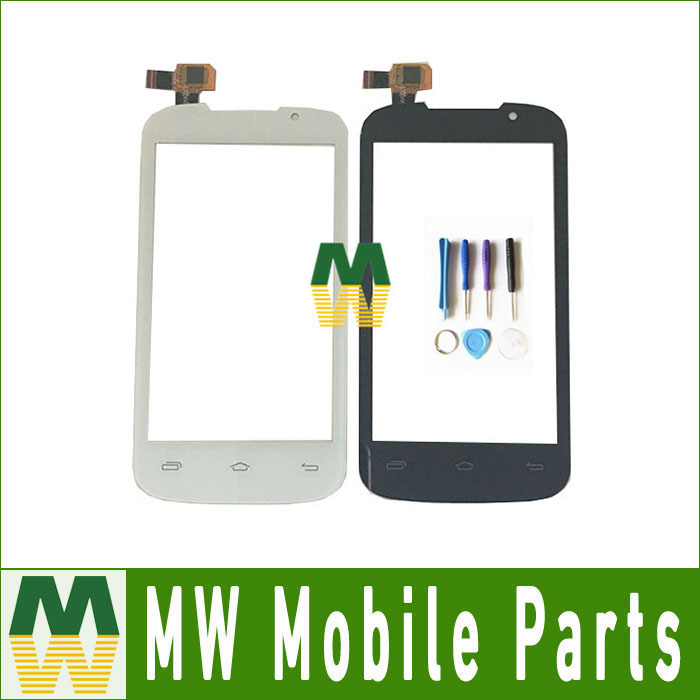 1PC/Lot For Prestigio MultiPhone PAP 3400 Duo PAP3400 Touch Screen Digitizer Black White Color With Tool