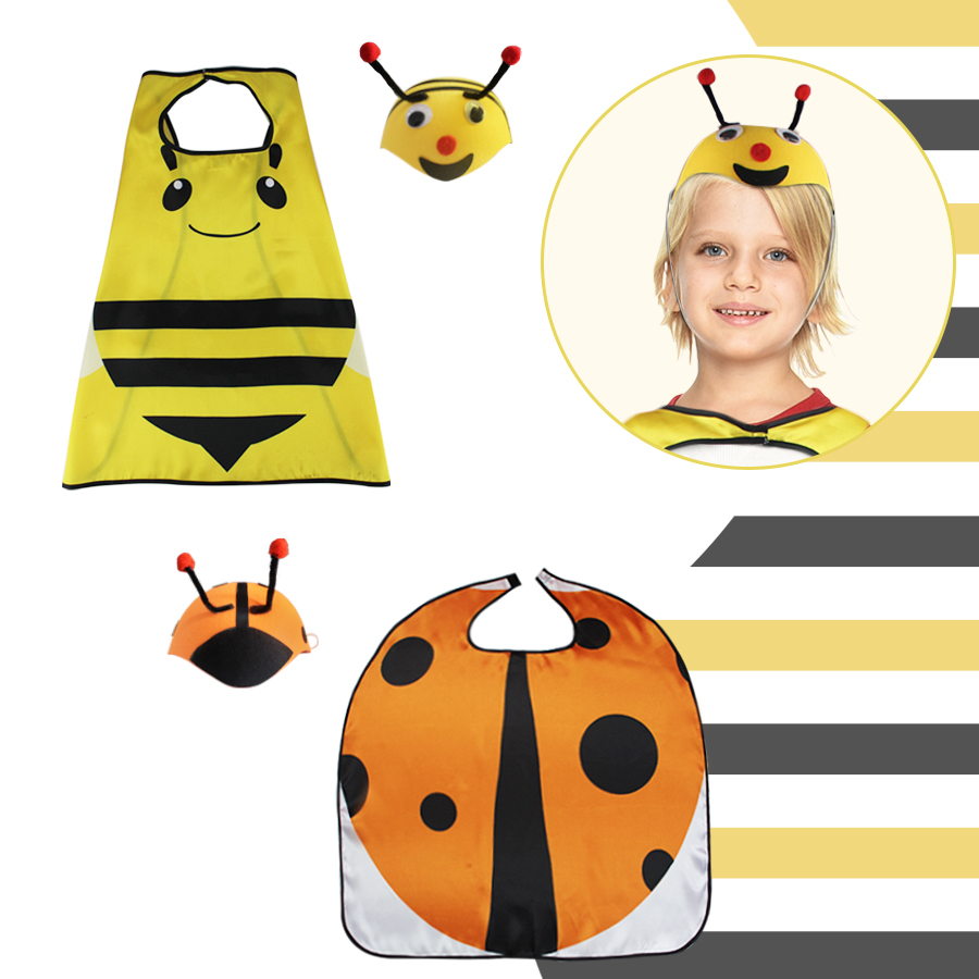 L27* animal single cape&special hat for kids birthday costumes Christmas gift school concert family date