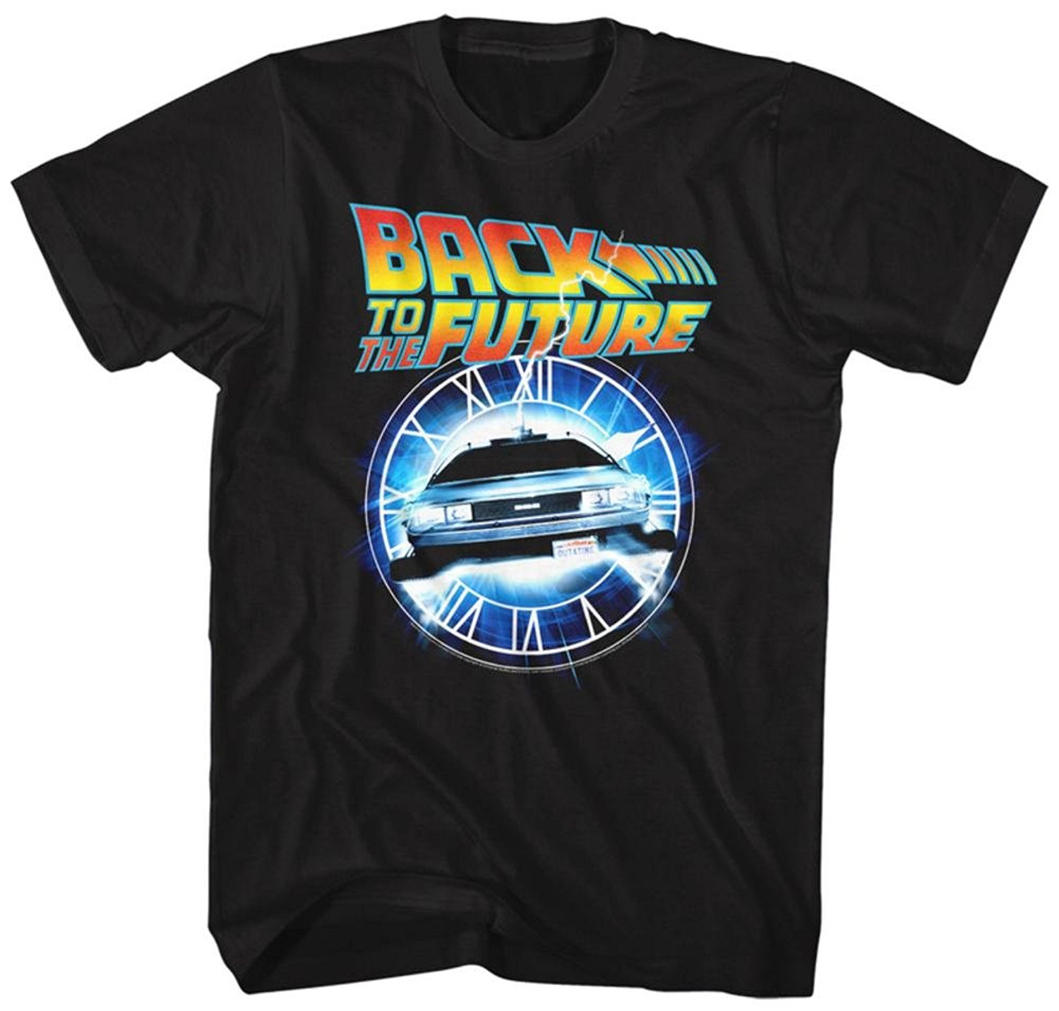 Gildan Back To The Future Out Of Time T-Shirt