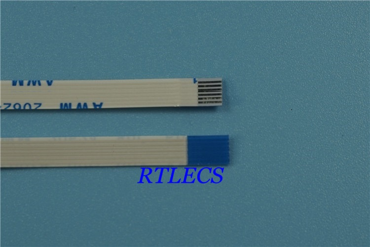 10pcs FFC / FPC Flexible flat cable 6 PIN 0.5 mm pitch different directions Length 60 mm 80 100 120 150 200 250 300mm Reverse 10pcs flexible flat cable ffc 8 pin 0 5 mm pitch ribbon same sides length 60 70 100 120 150 200 250 300 350 400 450 500 mm