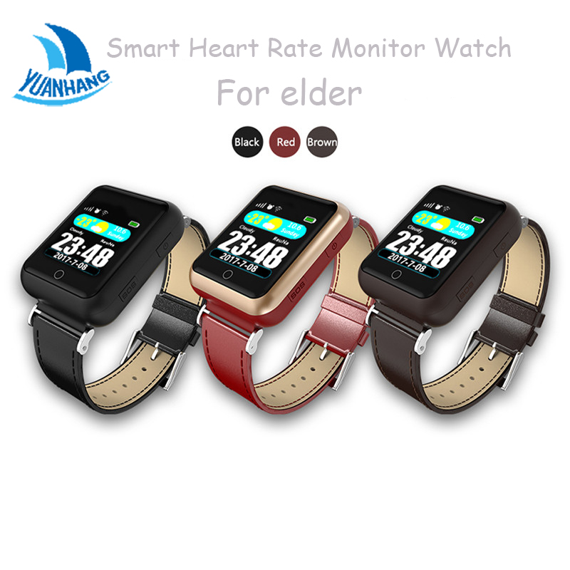 Smart GPS LBS Tracker Locator SOS Call Universal Watch For Elder Parents Heart Rate Monitor Reminder Alarm for Android IOS yuanhang smart universal gps lbs tracker locator sos call watch for elder parents heart rate monitor alarm anti lost wristwatch